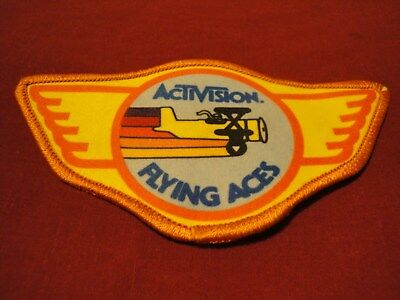 ACTIVISION FLYING ACES vintage patch
