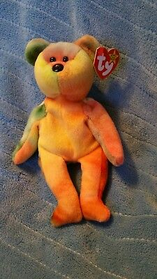 Ty beanie babies Garcia has all kinds of yellow and orange a green right ear arm