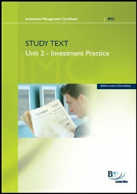 IMC - Unit 2 Study Text (Syllabus V9) by BPP Learning Media Book The Cheap Fast