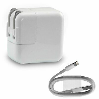 12W USB Power Adapter Supply Wall Charger for Apple iPad 1 2 3 4 5 6
