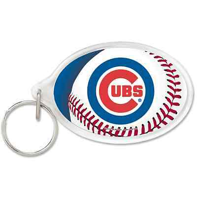 Chicago Cubs Acrylic Key Ring Wincraft Brand New Free Shipping