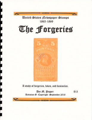U.S. Newspaper Stamp Reference Manual- The Forgeries