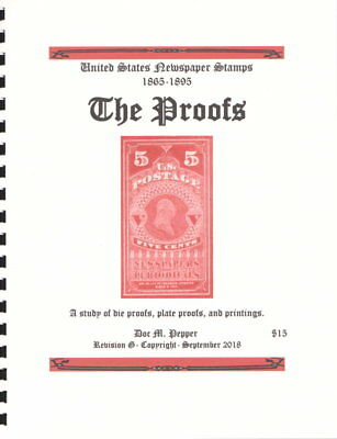 U.S. Newspaper Stamp Reference Manual- The Proofs