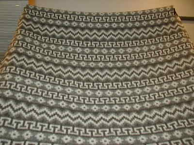 Vintage Alpaca Blanket Throw Stadium Fringed Lanificio del Peru Alpaca Soft