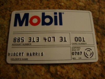 Vintage MOBIL Oil SOHIO & ESSO CANADA TRAVEL / CREDIT CARD (EXPIRED) Oil & Gas
