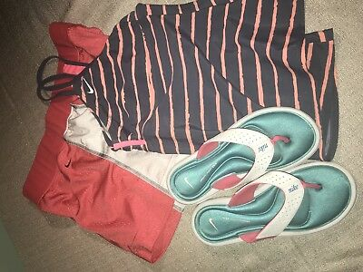 Women's Nike Dri-Fit Tempo Running Shorts Red size L Large