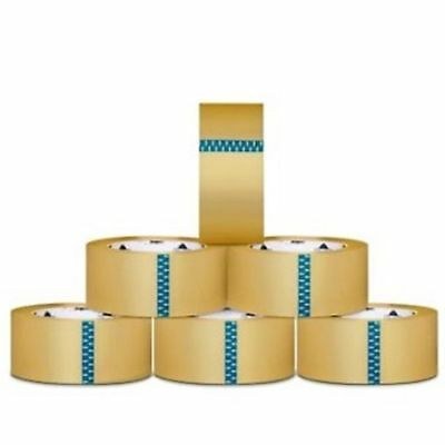 24 Rolls Clear Packing Tape 3-inch x 110 Yards 2.3 Mil with (1) Free 3-inch Tape