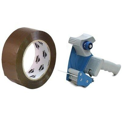 36 Rolls 2-inch x 110 Yards Tan Packing Tape 2.3 Mil with (1) Free 2-inch Tape