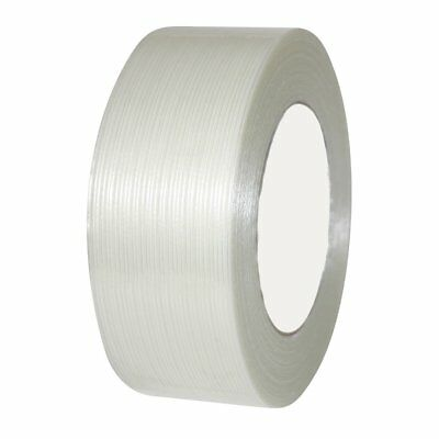 """18 Rolls Economy Filament Strapping Tape 1"""" x 60 Yards 3.9 MIL Reinforced"""
