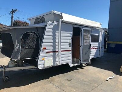Windsor Expanda Pop Top Caravan