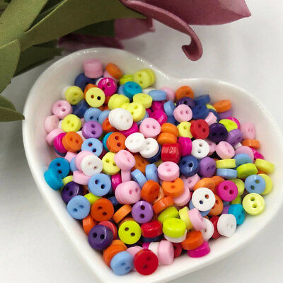 50/100/200 pcs plastic buttons cute bady craft/sewing/doll Mix color U pick PH38