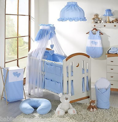 Lovely  CANOPY DRAPE +CANOPY HOLDER / ROD to fit  BABY COT or COTBED