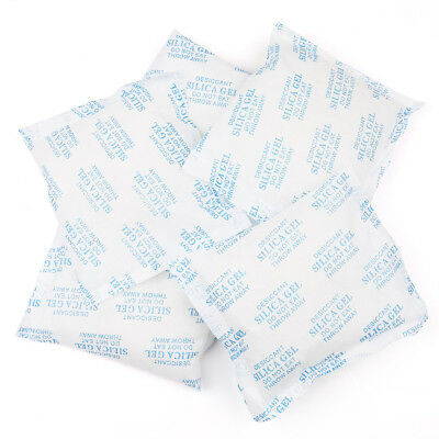 Pack of 6 120g Grams Silica Gel Desiccant Moisture Absorber Packets Reusable