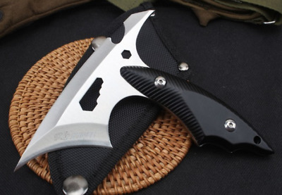 Mini Tomahawk Machete Axe Full Tang Outdoor Hunting Camping Hatchet Survival Axe