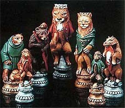 MOULDS ONLY Make Your Own Chess Sets With These 9 x Supercast Reynard the Fox...