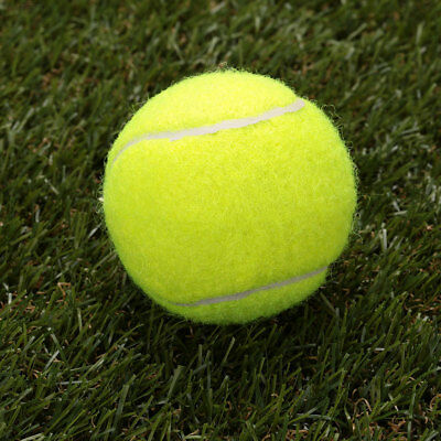 0493 DCE0 Tennis Ball Durable Elasticity Round Training Learning Sports Exercise