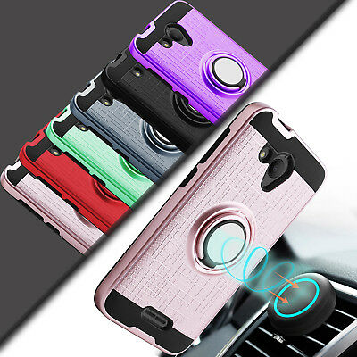 For Alcatel Tetra 6753B / 5041C Case Shockproof Armor Hybrid Stand Phone Cover
