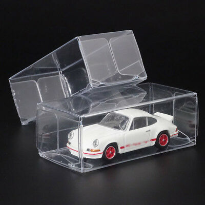 Dustproof Display Box Protection Mini 20PCS 1:64 Model Car Storage Holder Clear