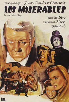 Les Miserables / Los Miserables Jean Gabin  Dvd Neuf Sous Cello
