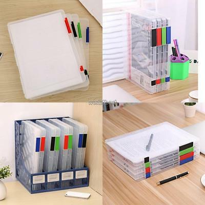Durable Portable Moisture Proof Dust-proof A4 File Storage Box WST