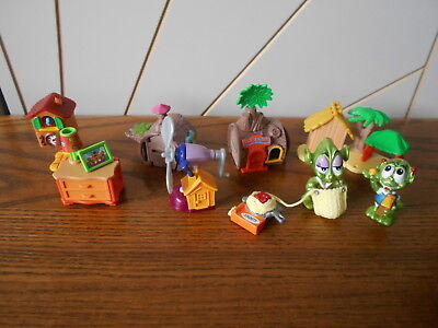 KINDER SURPRISE lot of mini toys WILD ALIENS/CUCKOO CLOCK +++ no papers/eggs