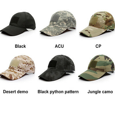 New Tactical Operator Camo Baseball Hat Military Army Special Forces Airsoft Cap