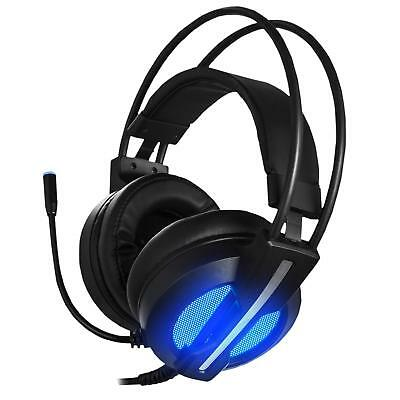 3.5mm Gaming Headset Mic LED Headphones Stereo Bass Surround For Xbox One PS4 PC