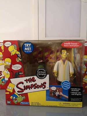 THE SIMPSONS Intelli Tronic Playmates Interactive OVP sealed  Reverend Lovejoy
