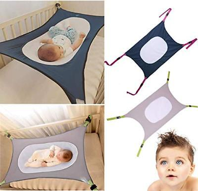 Safety Infant Baby Hammock Sleeping Swings For Newborn Nursery Beds Cribs Safe Detachable Elastic Hammock With Adjustable Net Activity & Gear Bouncers,jumpers & Swings
