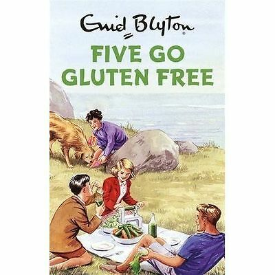 """AS NEW"" Five Go Gluten Free (Enid Blyton for Grown Ups), Vincent, Bruno, Book"