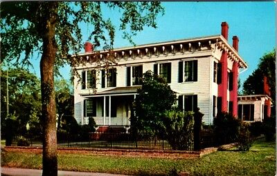 Postcard Alabama First White House Of The Confederacy Montgomery AL Unused E-25d
