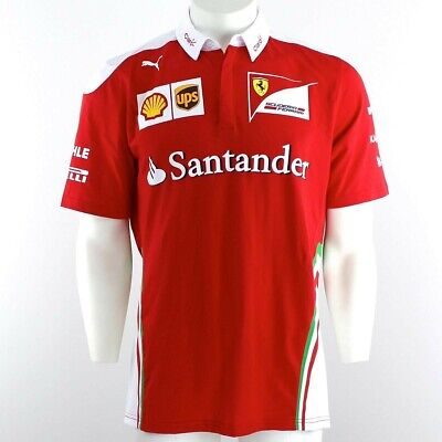 Puma SF Team Polo 761944 01 Scuderia Ferrari  Motorsport Herren Shirt