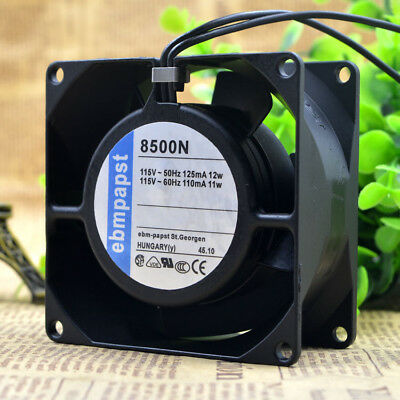 PAPST TYP9956 230V 8//9W Mechanical Cooling Fan 12CM High Temperature Resistance