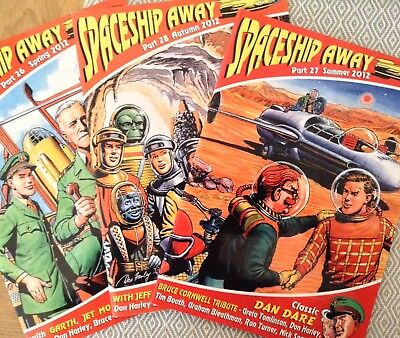 Spaceship Away Fanzines (3 issues) Spring, Summer, Autumn 2012 but no