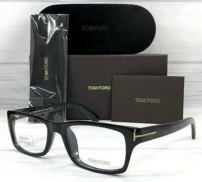 Tom Ford TF4239 001 Shiny Black / Demo Lens 54mm Eyeglasses