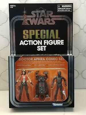 SDCC 2018 Hasbro Exclusive Star Wars Doctor Aphra with 000 BT1 Special Comic Set