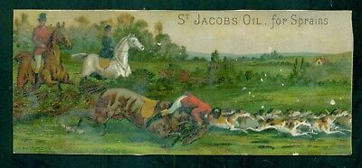 "1880's Baltimore,MD-Charles Vogeler Co. ""St. Jacobs Oil for Sprains"" Trade Card"