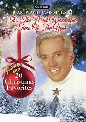 ANDY WILLIAMS SINGS IT'S THE MOST WONDERFUL TIME OF THE YEAR New Sealed DVD