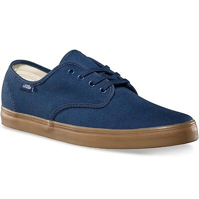 Vans Off The Wall Madero Denim Scuro GOMMA Scarpe Blu Uomo 5.5 Donna 7 Sk8