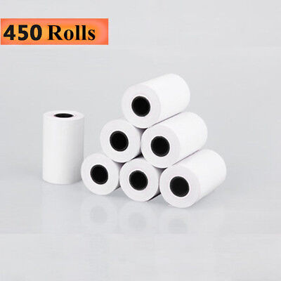 """450 Roll 2 1/4"""" x 50' Thermal Receipt Credit Card Cash POS Paper Ingenico iCT220"""
