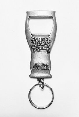 NEW Sam Adams Beer Keychain Bottle Opener
