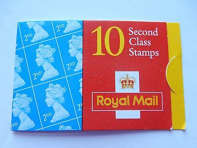 RARE 10 Second Class Stamps 2000 Last of Lick and Stick GUMMED UK Ten 2nd Brits