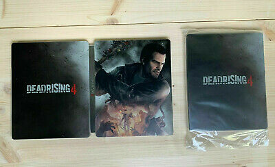 Official Dead Rising 4 steelbook steel book licensed by Capcom HARDCOVER NEW EU