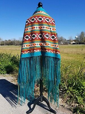 Spirit Bear, Native American Style Shawl,Prayer,Meditation,Regalia, 14in Fringe