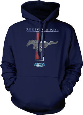 Ford  pony Shelby Cobra Mustang 5.0  Muscle Hoodie Pullover Sweatshirt