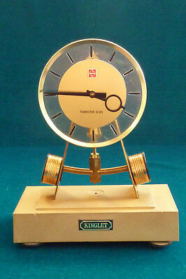 Unusual National Kinglet Transistor Battery Electronic Mantel Clock