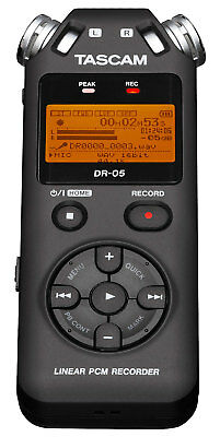 TASCAM DR-05 V2 Handheld Digitalrecorder