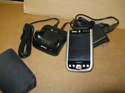 Dell Axim X50v Windows Mobile Mini Handheld PDA PC Device with Connectivity Dock