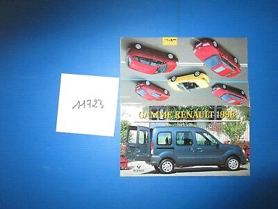 N°11723 /  catalogue gamme RENAULT 1998  / 80 pages