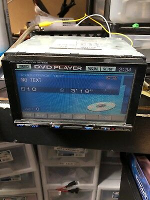 ALPINE IVA-W200 Mobile Multimedia Station DVD Player iPod Control  Touch Screen